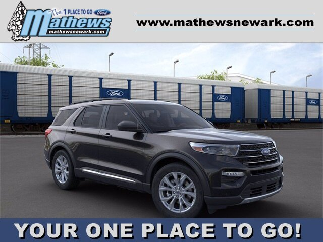 2020 Ford Explorer XLT 4 Door SUV 2.3 L 4-Cylinder Engine AWD Automatic