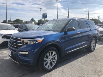 2020 BLUE Ford Explorer XLT Automatic SUV 4X4