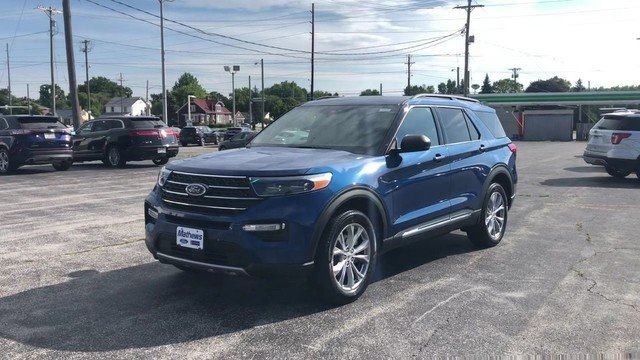 2020 Ford Explorer XLT 4X4 4 Door SUV
