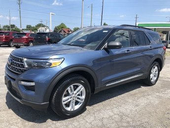 2020 METALLIC Ford Explorer XLT SUV 4X4 Automatic 4 Door