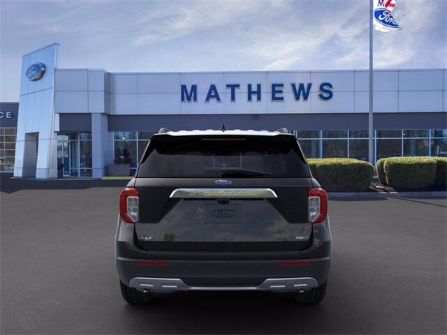 2020 AGATE_BLACK Ford Explorer XLT SUV 4 Door AWD