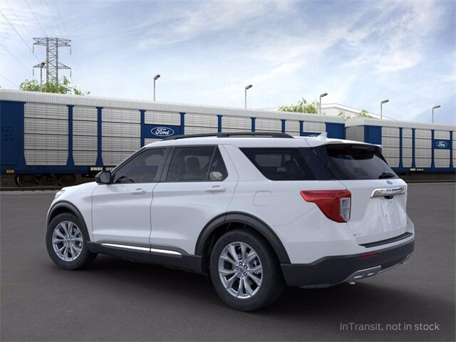2020 Ford Explorer XLT SUV Automatic 2.3 L 4-Cylinder Engine AWD