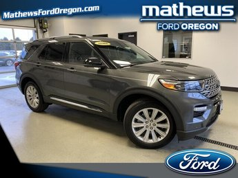 2020 Ford Explorer Limited 4X4 Automatic 2.3L 4 cyls Engine 4 Door SUV