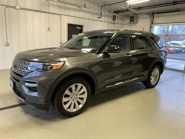 2020 Magnetic Metallic Ford Explorer Limited SUV 4X4 Automatic