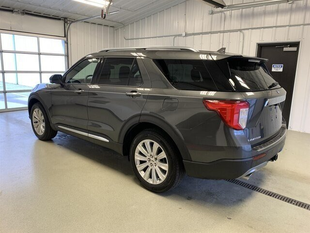 2020 Magnetic Metallic Ford Explorer Limited SUV Automatic 4 Door 2.3L 4 cyls Engine 4X4