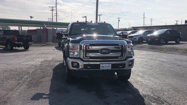 2015 Green Gem Metallic Ford Super Duty F-250 SRW Lariat 6.2L 8-Cyl Engine 4 Door Automatic 4X4 Truck