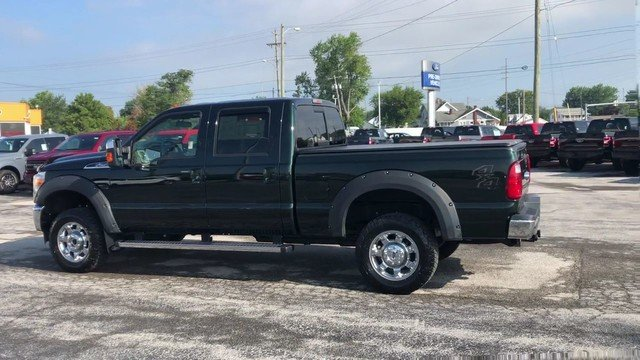 2015 Green Gem Metallic Ford Super Duty F-250 SRW Lariat 6.2L 8-Cyl Engine 4 Door Truck Automatic 4X4