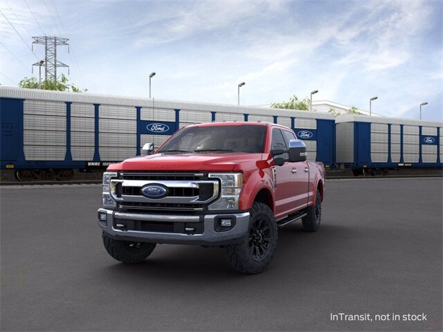 2020 RAPID_RED Ford Super Duty F-250 SRW 4WD Crew Cab Box 4 Door 7.3 L 8-Cylinder Engine Automatic