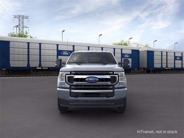 2020 Iconic Silver Metallic Ford Super Duty F-250 SRW 4WD Crew Cab Box 4X4 4 Door Truck 7.3 L 8-Cylinder Engine Automatic