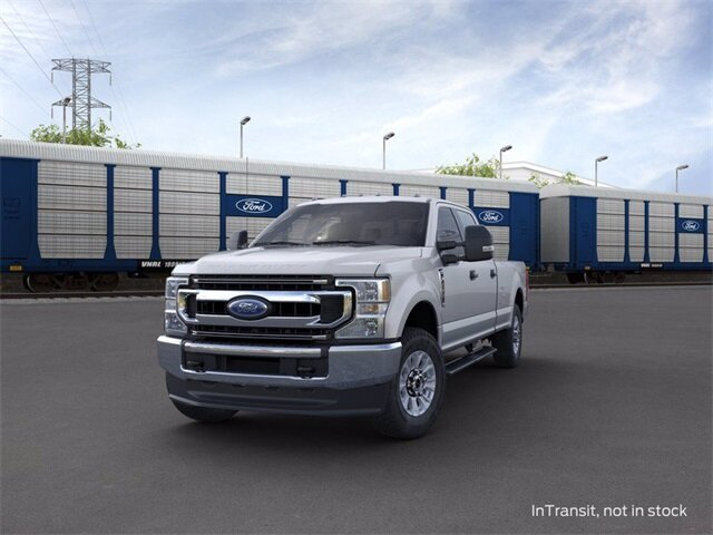 2020 Iconic Silver Metallic Ford Super Duty F-250 SRW 4WD Crew Cab Box Automatic 4 Door 7.3 L 8-Cylinder Engine