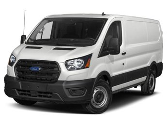 2020 Oxford White Ford Transit Cargo Van T-250 Low Rf 9070 GVWR RWD RWD Van 3 Door