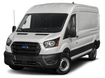 2020 Oxford White Ford Transit Cargo Van T-250 Med Rf 9070 GVWR AWD AWD Automatic Van 3.5 L 6-Cylinder Engine 3 Door