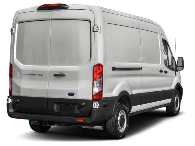 2020 Oxford White Ford Transit Cargo Van T-250 Med Rf 9070 GVWR AWD AWD 3 Door 3.5 L 6-Cylinder Engine