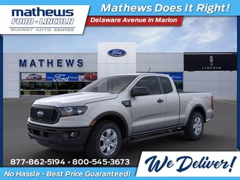 2021 Ford Ranger XL EcoBoost 2.3L I4 GTDi DOHC Turbocharged VCT Engine 4X4 Truck