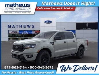 2021 Cactus Ford Ranger XLT EcoBoost 2.3L I4 GTDi DOHC Turbocharged VCT Engine 4 Door Automatic 4X4 Truck