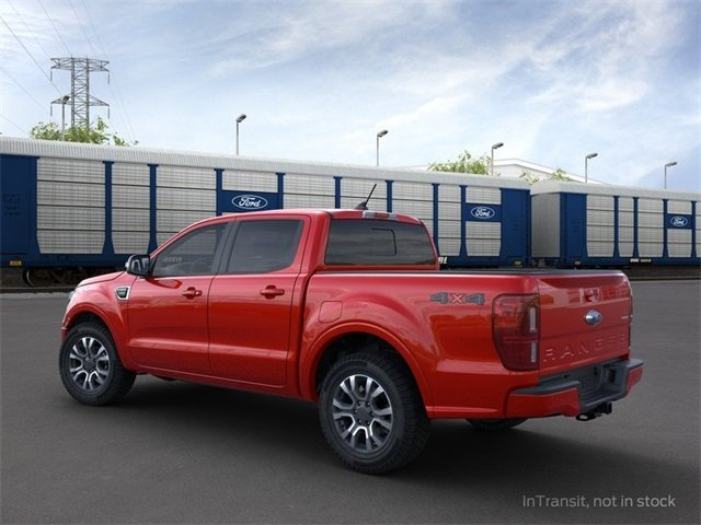 2020 Race Red Ford Ranger 4WD SuperCrew 5' Box Truck 2.3 L 4-Cylinder Engine 4X4