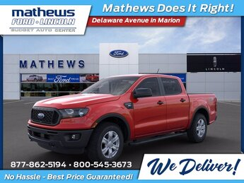 2021 Ford Ranger XL 4X4 Truck 4 Door EcoBoost 2.3L I4 GTDi DOHC Turbocharged VCT Engine Automatic