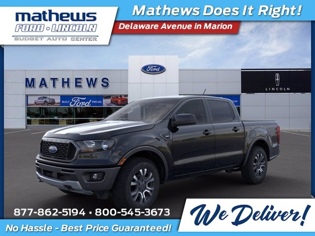 2020 Shadow Black Ford Ranger XLT Truck 4 Door Automatic
