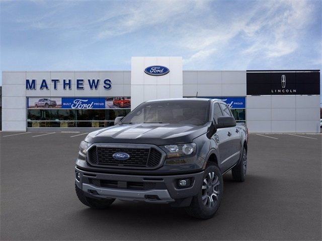 2020 Shadow Black Ford Ranger XLT Automatic 4 Door EcoBoost 2.3L I4 GTDi DOHC Turbocharged VCT Engine