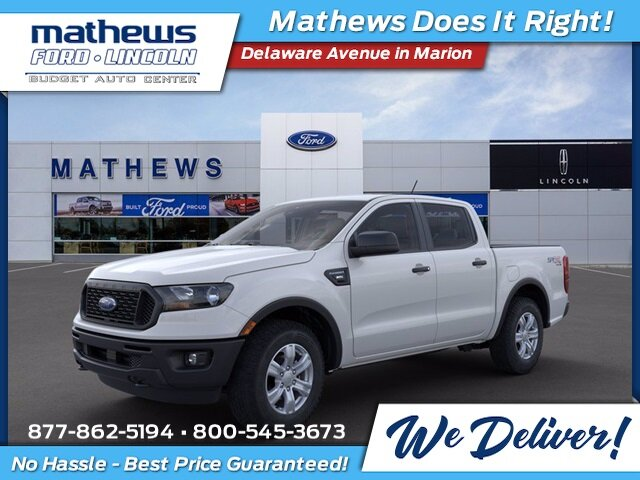 2021 Oxford White Ford Ranger XL Truck 4 Door Automatic 4X4