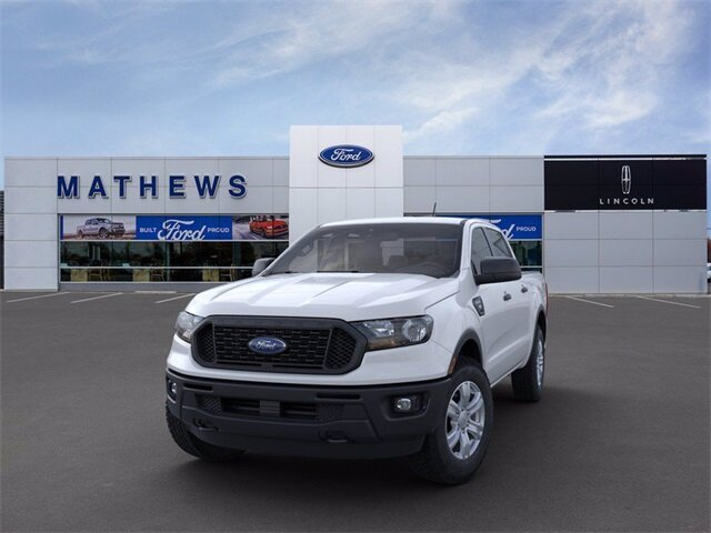 2021 Oxford White Ford Ranger XL 4 Door EcoBoost 2.3L I4 GTDi DOHC Turbocharged VCT Engine Automatic Truck