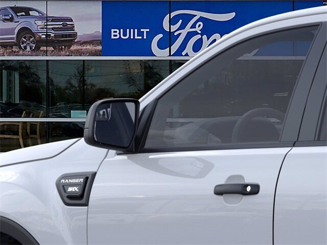 2021 Oxford White Ford Ranger XL 4 Door Truck EcoBoost 2.3L I4 GTDi DOHC Turbocharged VCT Engine