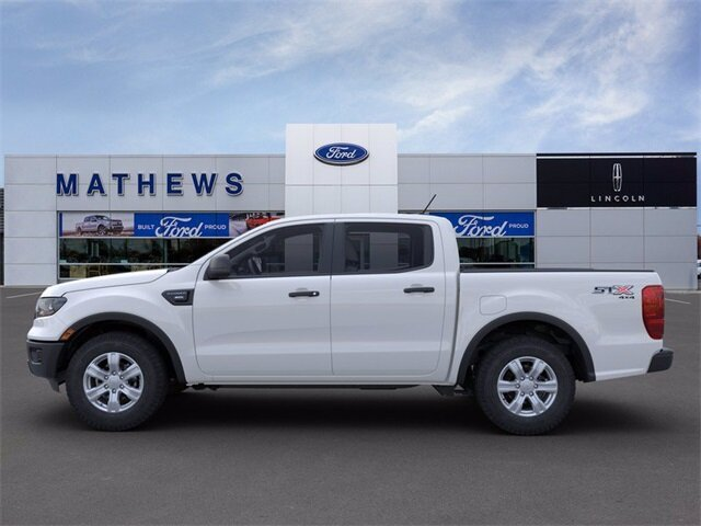 2021 Ford Ranger XL EcoBoost 2.3L I4 GTDi DOHC Turbocharged VCT Engine 4 Door 4X4 Automatic Truck