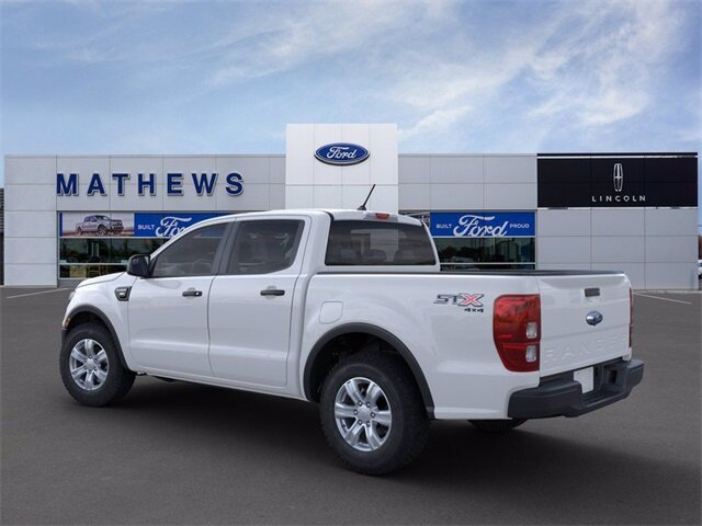 2021 Oxford White Ford Ranger XL EcoBoost 2.3L I4 GTDi DOHC Turbocharged VCT Engine 4X4 4 Door Automatic