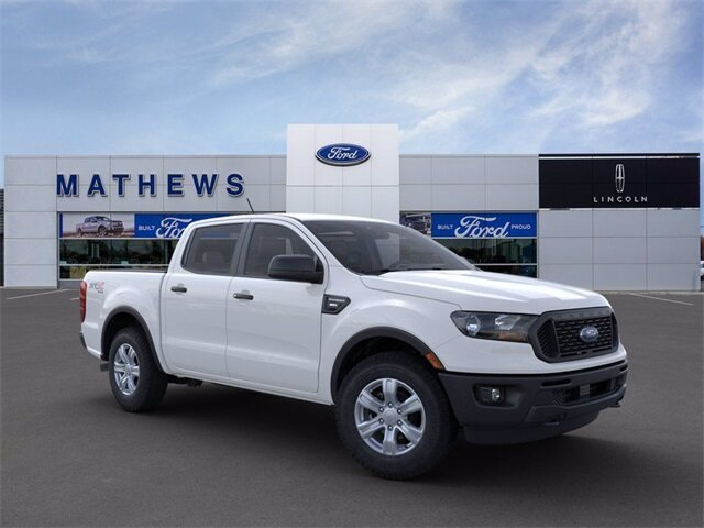 2021 Oxford White Ford Ranger XL Truck 4 Door Automatic EcoBoost 2.3L I4 GTDi DOHC Turbocharged VCT Engine 4X4