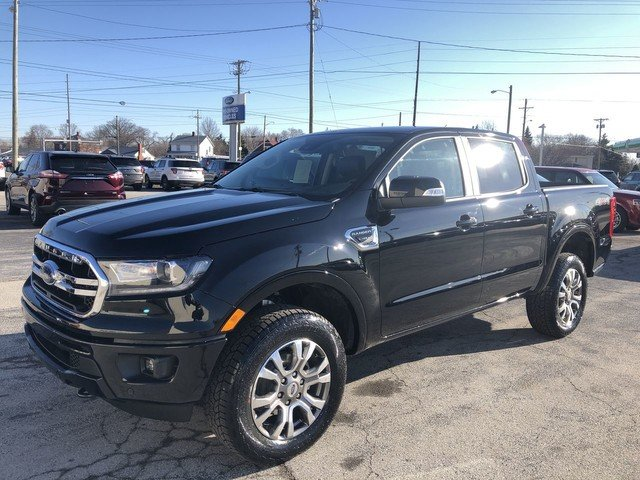 2019 Shadow Black Ford Ranger LARIAT 4X4 Automatic Truck