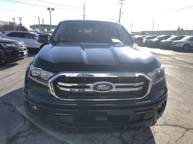 2019 Shadow Black Ford Ranger LARIAT Automatic 4X4 4 Door