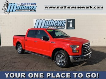2017 Race Red Ford F-150 XLT 2WD SuperCrew 5.5' Box Automatic 4 Door Truck RWD 5.0L 8-Cylinder Engine