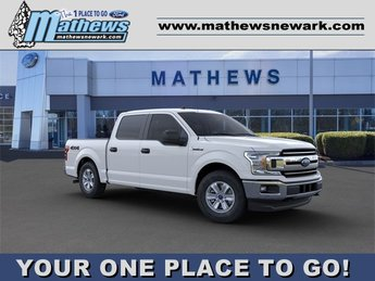 2020 Oxford White Ford F-150 XLT 3.5L 6-Cylinder Engine Automatic Truck 4 Door