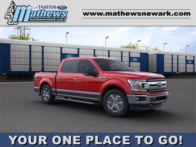 2020 Ford F-150 4WD SuperCrew Box Automatic 3.5 L 6-Cylinder Engine 4 Door Truck