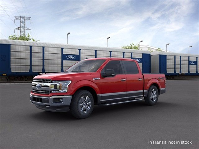 2020 RAPID_RED_MET_TINT Ford F-150 4WD SuperCrew Box 3.5 L 6-Cylinder Engine Automatic 4X4
