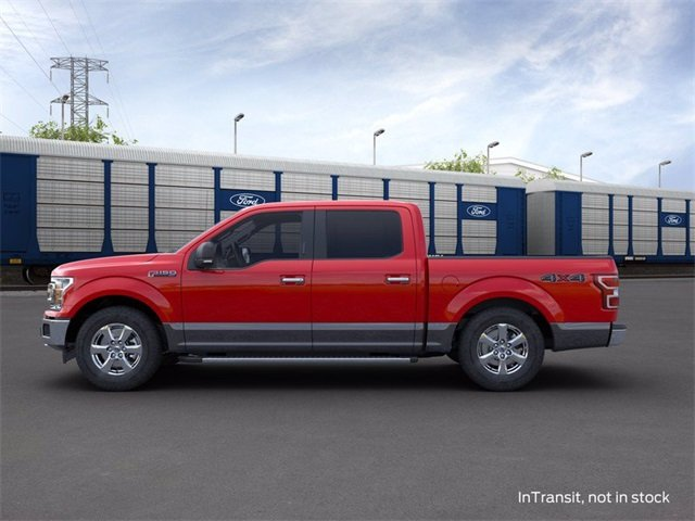 2020 RAPID_RED_MET_TINT Ford F-150 4WD SuperCrew Box 3.5 L 6-Cylinder Engine Truck Automatic 4X4