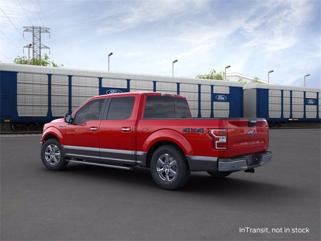 2020 RAPID_RED_MET_TINT Ford F-150 4WD SuperCrew Box 4X4 4 Door Truck 3.5 L 6-Cylinder Engine Automatic