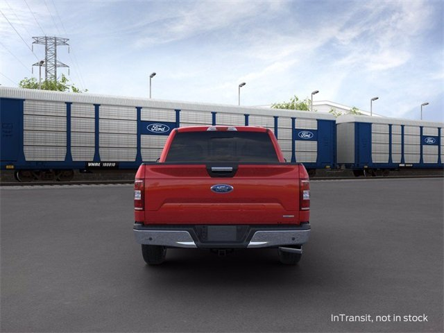2020 RAPID_RED_MET_TINT Ford F-150 4WD SuperCrew Box Truck 4X4 3.5 L 6-Cylinder Engine Automatic 4 Door