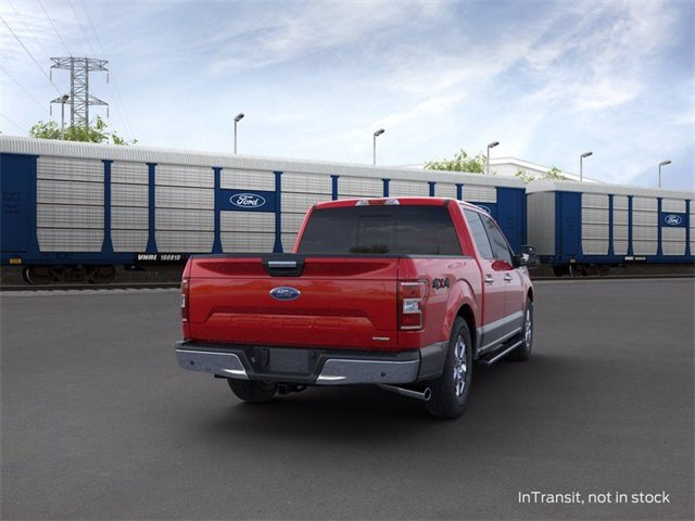 2020 Ford F-150 4WD SuperCrew Box Truck 4 Door 4X4 3.5 L 6-Cylinder Engine