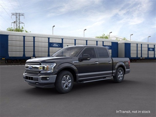 2020 Agate Black Metallic Ford F-150 4WD SuperCrew Box Automatic 4X4 3.5 L 6-Cylinder Engine Truck 4 Door
