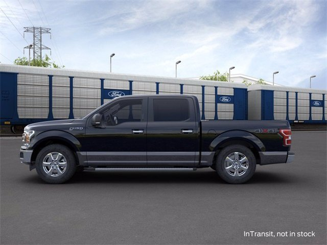 2020 Agate Black Metallic Ford F-150 4WD SuperCrew Box Automatic Truck 4X4 3.5 L 6-Cylinder Engine 4 Door