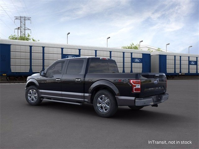 2020 Agate Black Metallic Ford F-150 4WD SuperCrew Box Automatic 4 Door 3.5 L 6-Cylinder Engine