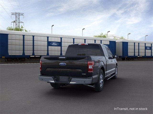 2020 Agate Black Metallic Ford F-150 4WD SuperCrew Box Truck 3.5 L 6-Cylinder Engine Automatic