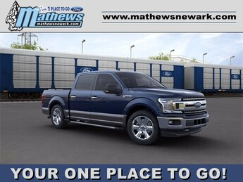 2020 BLUE_JEANS Ford F-150 4WD SuperCrew Box 4X4 3.5 L 6-Cylinder Engine Automatic 4 Door Truck