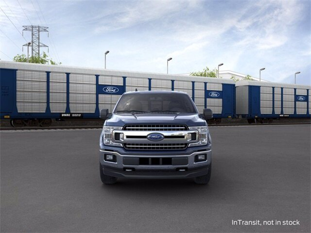 2020 BLUE_JEANS Ford F-150 4WD SuperCrew Box Truck 4X4 4 Door Automatic 3.5 L 6-Cylinder Engine
