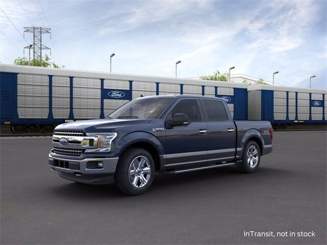 2020 BLUE_JEANS Ford F-150 4WD SuperCrew Box 3.5 L 6-Cylinder Engine Automatic Truck 4X4 4 Door