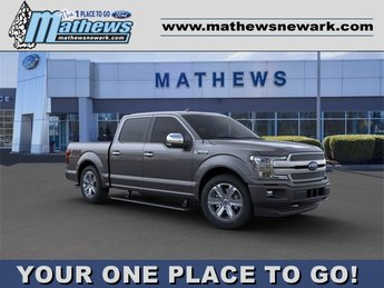 2020 Magnetic Metallic Ford F-150 4WD SuperCrew Box 4X4 Automatic 4 Door 3.5L 6-Cylinder Engine Truck