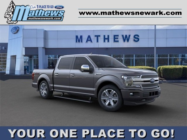 2020 Magnetic Metallic Ford F-150 4WD SuperCrew Box 4 Door Automatic 4X4