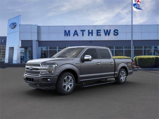 2020 Ford F-150 4WD SuperCrew Box 3.5L 6-Cylinder Engine Automatic 4 Door 4X4 Truck