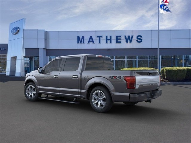 2020 Magnetic Metallic Ford F-150 4WD SuperCrew Box Automatic 4 Door 3.5L 6-Cylinder Engine Truck
